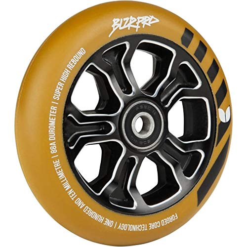 Blazer Pro Rebellion 110 mm alloy Core scooter Wheel, Gum/Black
