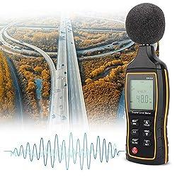 Digitaler Schallpegelmesser, Digitaler Schallpegelmesser Noise Detect Tester Daten Dezibelmessung 30-130dB für Audio Office Factory(1#)