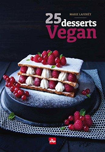 25 desserts vegan por Marie Laforet