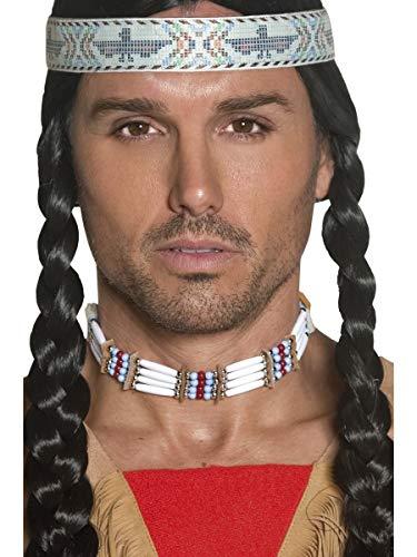 Erwachsene Fancy Native American inspiriert Weiß Choker weiß Accessory Pack von 3