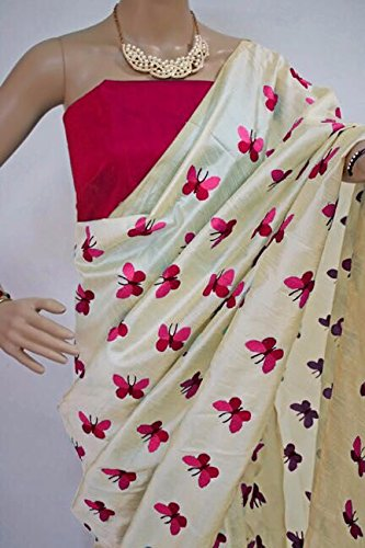 PRMUKH STORE TITALI PINK Sarees For Women's Latest Designer Party Wear New...