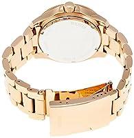 Reloj Fossil AM4483 de cuarzo para mujer con correa de acero inoxidable bañado, color rosa de Fossil