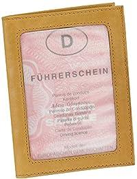 Leder Ausweisetui Ausweishülle Kreditkartenetui Ausweismappe Kartenetui KFZ Mappe Etui vers. Farben