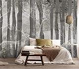 Nordico moderno dipinto a mano arte astratta foresta alce camera da letto soggiorno sfondo muro 250cmx175cm Carte da parati non tessute/Murales/Carte da parati fotografiche/Rivestimenti per pare