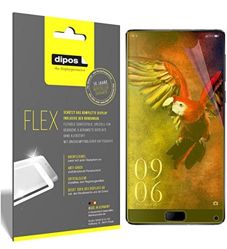 dipos I 3X Schutzfolie 100% passend für Elephone S8 Folie (Vollständige Displayabdeckung) Displayschutzfolie