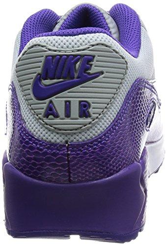 Nike Wmns Air Max 90, Scarpe sportive, Donna Multicolore(Mehrfarbig (Slvr Wng/Crt Prpl-Hypr Grp-Hyp))