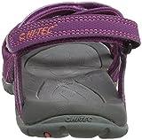 Hi-Tec Damen Waimea Falls Sandalen Trekking-& Wanderschuhe, Violett (Amaranth/Georgia Peach), 40 EU - 2