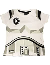Stormtrooper Childrens T-Shirt Official Star Wars Kids Costume Clothing (2-3 Years, Stormtrooper)