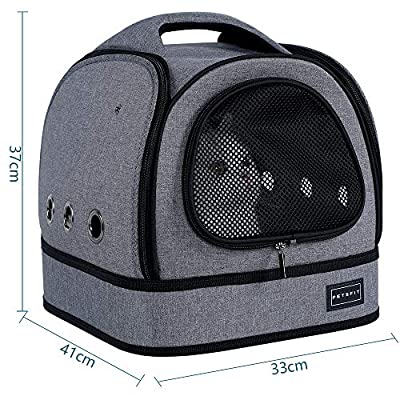 Petsfit Soft Cat Carrier with Comfortable Soft Fleece Mat for Cats up to 5.8 kg from Xiamen JXD E-Commerce Co., Ltd.