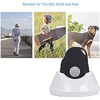 Ckeyin Persönlicher wasserdichter GPS Tracker-Gerät mit Ladestation für Kinder - Eltern - Haustiere – Autos