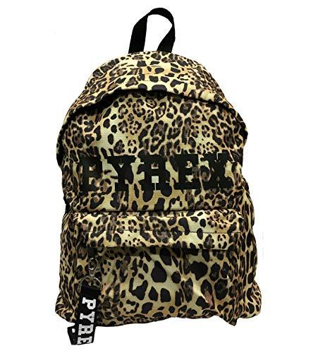 Zaino pyrex py18505 leopardato