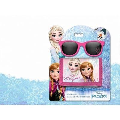 Disney Frozen-WD17765 Set Gafas y Billetera, Kids WD17765 por Kids