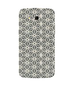 Geometrical Flower Samsung Galaxy Grand 2 Case