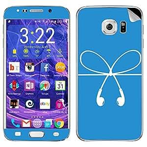 Theskinmantra Earphones Samsung Galaxy S6 Edge Plus mobile skin