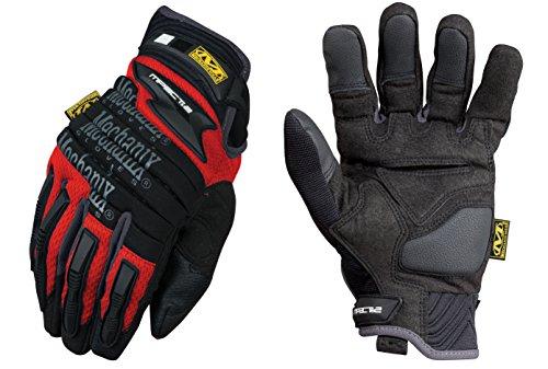 Mechanix Wear-MECMP2 02-011 M-Pact 2 Handschuhe - Rot - X-Large