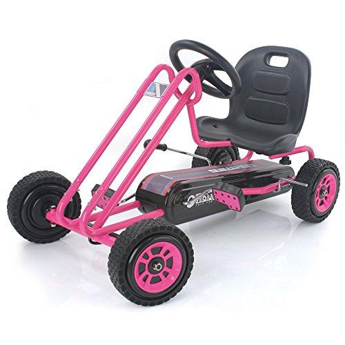Hauck T90104 Lightning Go-Kart, Rosa