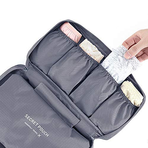multifunzione viaggio sacchetto di immagazzinaggio biancheria intima del reggiseno borsoni un vestito grigio Materiali per hobby creativi Pratico e bello Borse