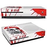 Microsoft XBox One S Folie Skin Sticker aus Vinyl-Folie Aufkleber Albert Einstein Zeichnung Art