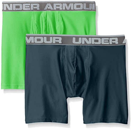 Under Armour Herren O Series 6 zoll BoxerJock 2 PK Nova Teal
