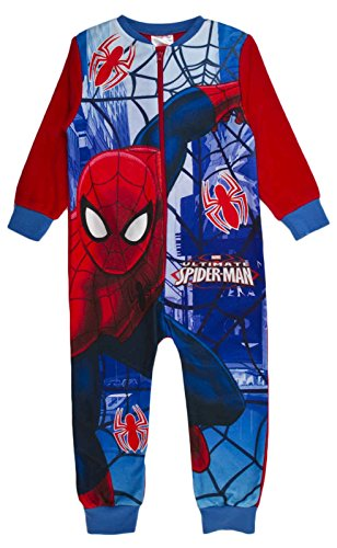 various-pigiama-interi-maniche-lunghe-ragazzo-spiderman-ultimate-spiderman-3-4-anni