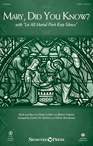 Mary, Did You Know? - SATB - CHORAL SCORE