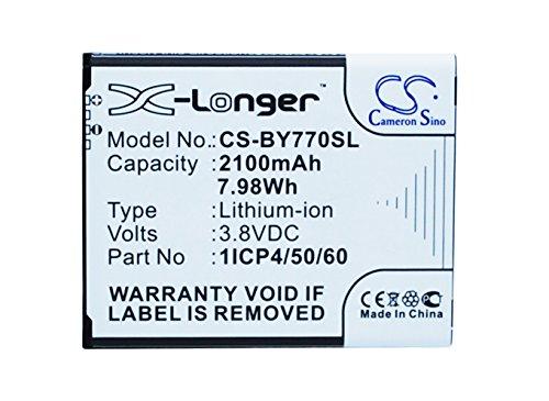 Cameron Sino 2100mAh/7,98WH Batterie Compatible avec Beurer by77, 952-62, 952.62