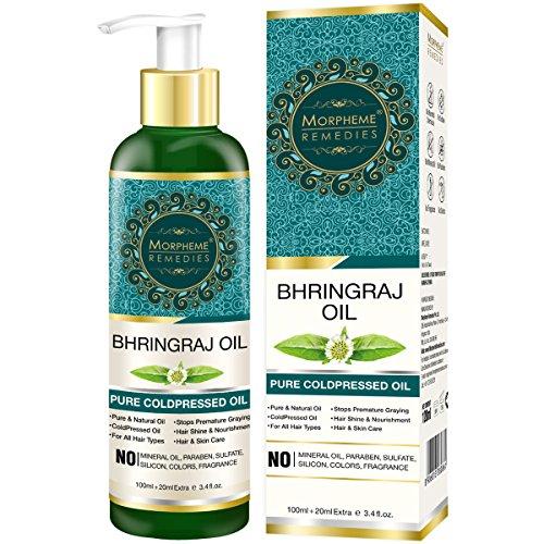 Morpheme Pure Bhringraj Hair Oil (ColdPressed & Undiluted) 120ml Bhringraj Haaröl