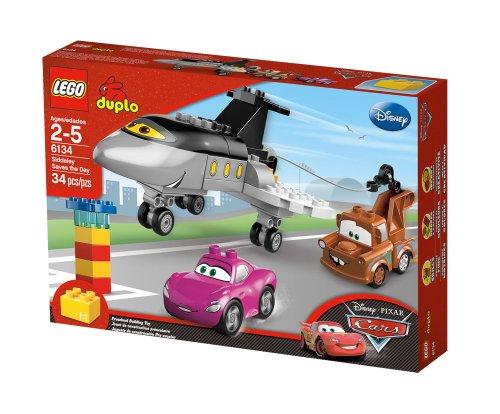 LEGO Duplo Cars 6134 - Siddeleys Rettungsaktion (Lightning Duplo)