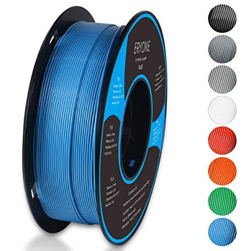 Filament PLA 1.75mm, Eryone PLA Filament 1.75mm, 3D Drucken Filament PLA for 3D Drucker, 1kg 1 Spool, Blau