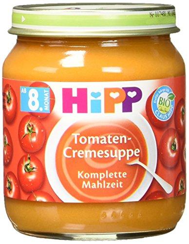 HiPP Tomaten-Cremesuppe, 6er Pack (6 x 200 g) (Tomaten-suppe)