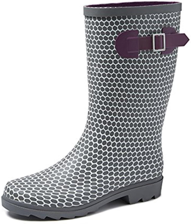 Gevavi Boots ABBY06400 Abby Damen Stiefel Gummi 40 Grau