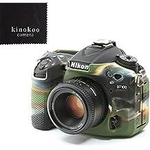Funda paracámara de silicona kinokoo para Nikon D7100 D7200, cámara digital SLR