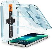 Spigen GLAStR EZ FIT [2 Pack] designed for iPhone 13 and iPhone 13 PRO Screen Protector (6.1 inch) Premium Tem