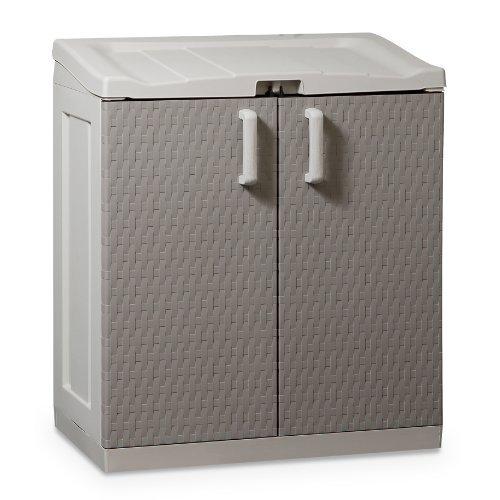 Preisvergleich Produktbild Gerätebox Aufbewahrungsschuppen Rattan Work XL
