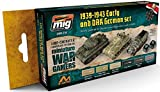 Mig Jimenez Wargame Early And Dak German Set # 7116