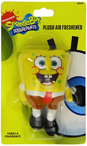 Image of Custom Accessories 28800 Sponge Bob 3D Plush Air Freshener
