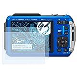 Bruni Schutzfolie für Panasonic Lumix DMC-TS6 Folie - 2 x glasklare Displayschutzfolie