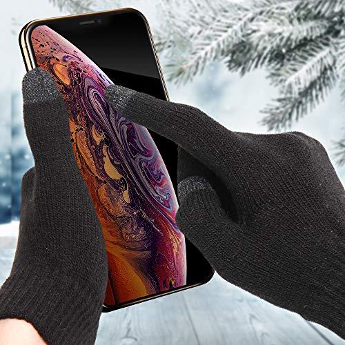 Touchscreen Handschuhe Smartphone Touch Gloves Handy Display Winterhandschuhe - 3er Set.