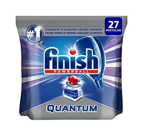 Max-finish (Finish Powerball Quantum Max Glanz & Schutz-Tabletten für Geschirrspüler-27Stück)