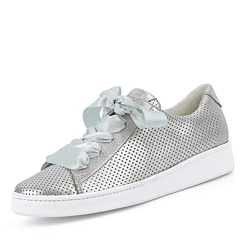 Paul Green 4583-022, Sneaker Donna Argento