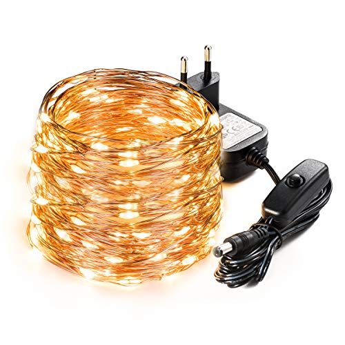 Lichterkette LED Kupferdraht SEALIGHT 20m 200er LED