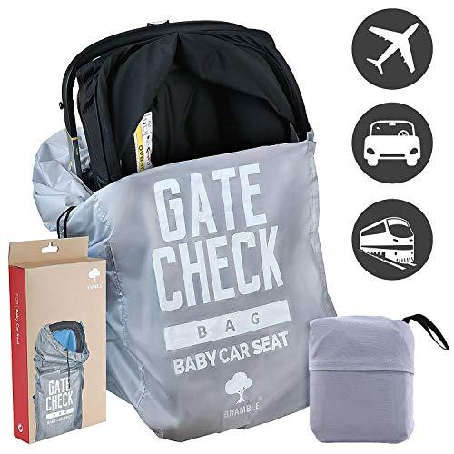 Kindersitz Reisetasche, Autokindersitz Transporttasche - Wasserdicht, Strapazierfähiges Nylon, 100{163a48d038fc69d07ae78574d18df764a1774677b4cc02b41cf2de38d3a625ca} Schutz - Flugzeug Gate Check in - Einfacher Transport & zu identifizieren am Flughafen Gepäckband