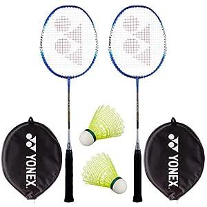 Yonex Super Value Combo (Two Yonex Badminton Racquets and 2 Pieces Shuttlecock)