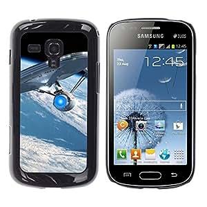 Smartphone-Schutzhülle Hartschalen-Tasche Hülle HandyHülle für Mobiltelefon Samsung Galaxy S Duos S7562 / CECELL Phone case / / Spaceship /