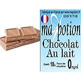 MA POTION - E-Liquide Saveur Chocolat au Lait, Eliquide Français Ma Potion, recharge liquide cigarette électronique. Sans nicotine ni tabac