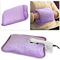 EliteZotec® Neue elektrische wiederaufladbare Wärmflasche lila Massage Heizkissen Bettwärmer preisvergleich bei billige-tabletten.eu