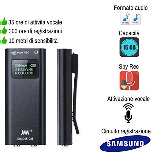 Micro Recorder Audio Spy Sprachsteuerung 16GB USB Umwelt