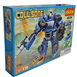 Transformer robot Jeep Beast Mode Bricks Transformations Building Blocks toy set - 174 Pieces