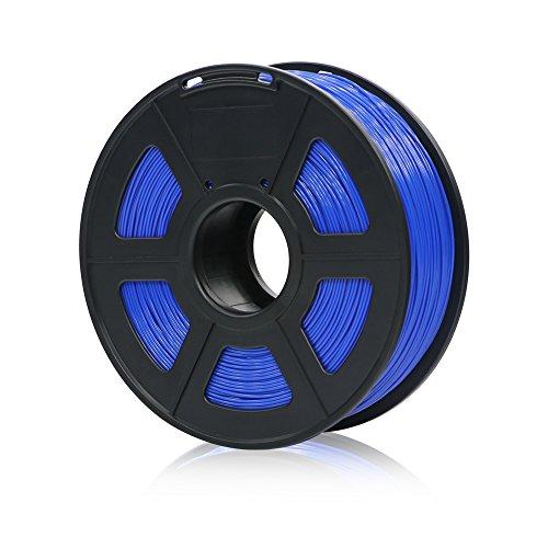 ANYCUBIC PLA+ 3D Drucker Filament, Toleranz beim Durchmesser liegt bei +/- 0,02mm, 1kg Spule, 1.75mm für 3D-Drucker und 3D-Stifte,Verschiedene Farben (Blau)