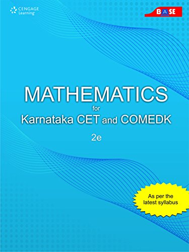 Mathematics for Karnataka CET and COMEDK